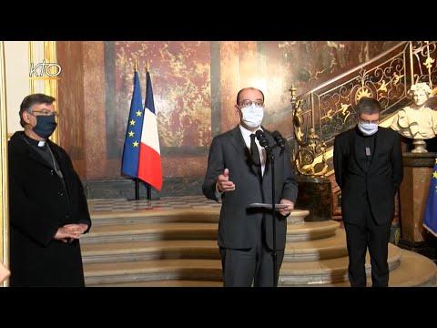 Attentat de Nice : le Premier ministre réaffirme son soutien aux catholiques