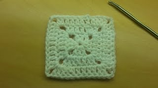 How To Crochet - Basic Granny Square - Bag-O-Day Crochet Tutorial #29