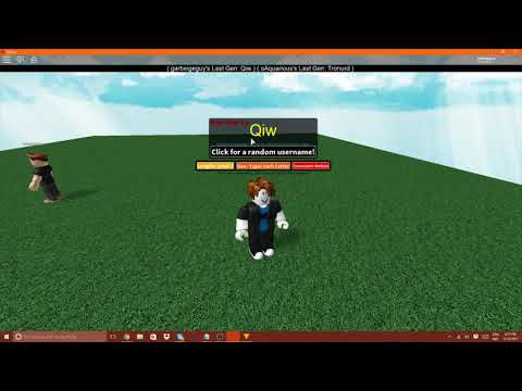 ROBLOX 3 Letter Name Generator Mp3