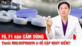 MỚI NHẤT TP.HCM: 50.000 liều thuốc MOLNUPIRAVIR trị COVID-19 cấp cho F0, Bác sĩ Tú Dung KHUYẾN CÁO?