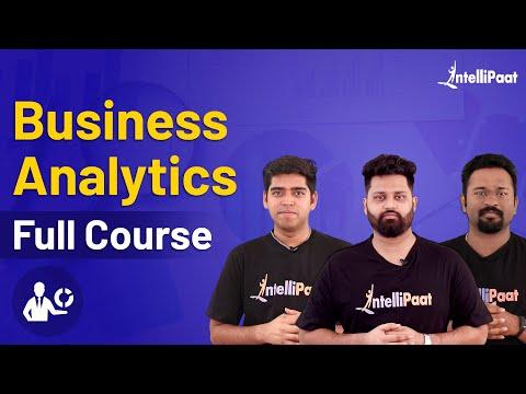 Business Analyst | Business Analytics Course | Intellipaat