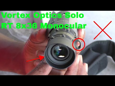 ✅  How To Use Vortex Optics Solo RT 8×36 Monocular Review