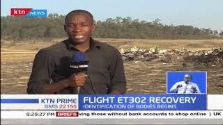 This is the crash site of Flight ET302