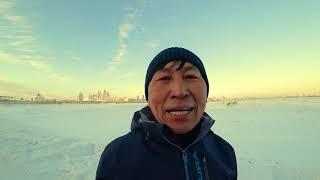 зимний марафон Астана 23 декабря