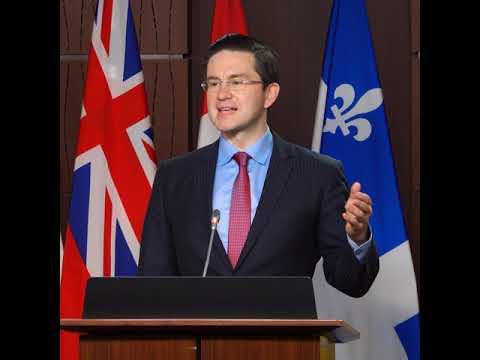 Poilievre commente l'Énoncé économique de l'automne.