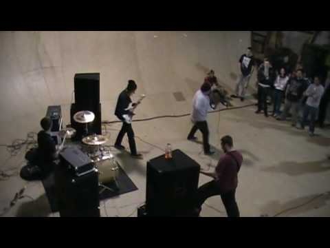 "Hardcore Band IN TIME Plays ""Blank Slate"" Live at Ximeno's Skateboard Park. SC."