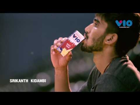 Srikanth Kidambi runs with Vio