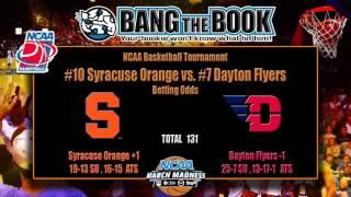 Dayton vs Syracuse March Madness Pick, Odds & Prediction