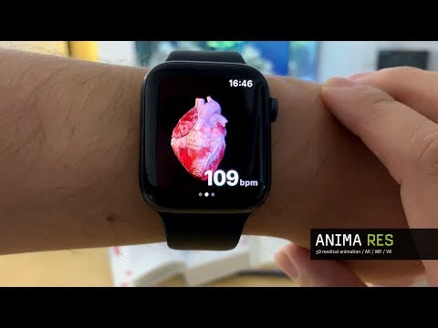 INSIGHT HEART - prototype of standalone Apple Watch App