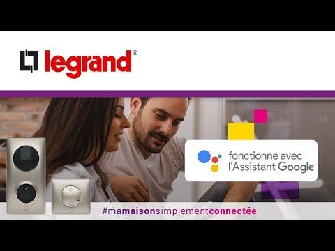 Compatibilité Google et Legrand : commandez votre installation Céliane™ with Netatmo par la voix !