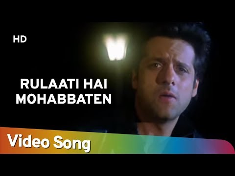 Rulaati Hai Mohabbaten | Kitne Door Kitne Pass (2002) | Fardeen Khan | Amrita Arora | Hindi Sad Song