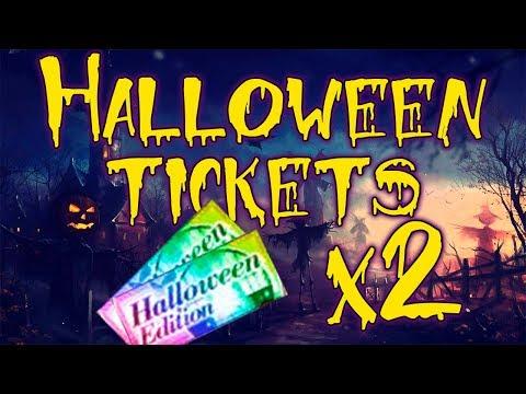 Bleach Brave Souls Halloween Ticket Summons x2