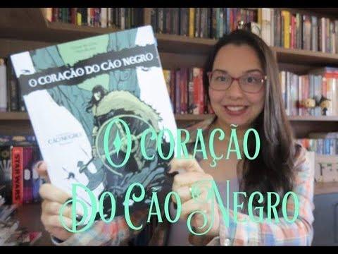 O Coração do Cão Negro de Cesar Alcázar e Fred Rubim| Editora Avec | Blog Leitura mania