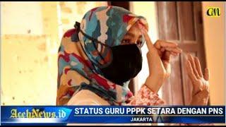 VIDEO - Jokowi Sebut Status & Tunjangan Guru PPPK Sama Dengan PNS