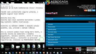 AeroGaga Registracija