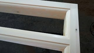 Making a wooden frame Tenons with Bandsaw