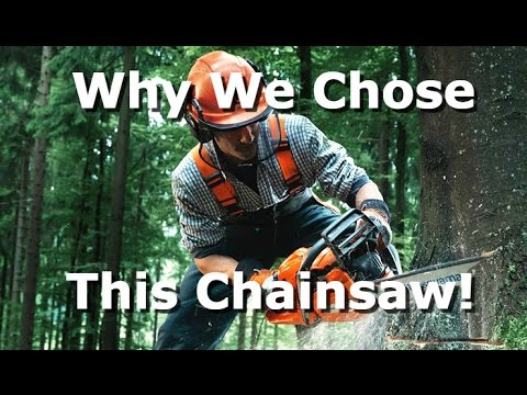 Husqvarna 445 Chainsaw unboxing and review. Why we chose it!