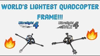 How To Win On Race Day! World's Lightest FPV Drone! Frame Build & Overview - Druckbar