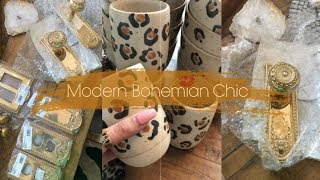 NEW Modern Bohemian Farmhouse Home Decor HAUL | Vlogmas 2019