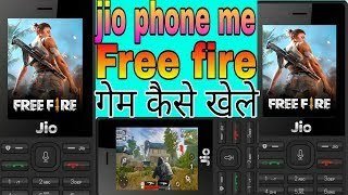 Free fire game download for jio phone