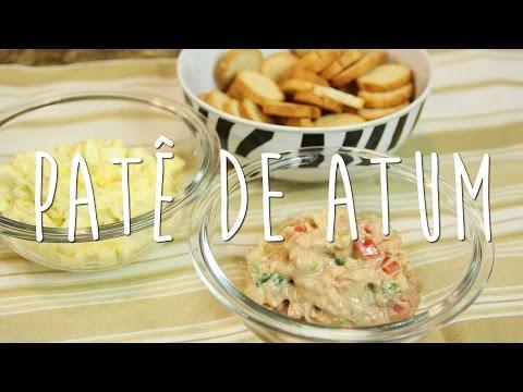 Patê de Atum e Salada de Ovo Light