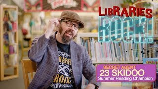"Summer Reading Champion: SECRET AGENT 23 SKIDOO - Kid's PSA ""This Summer Libraries Rock!"""
