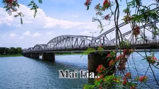 Nước Chảy Qua Cầu (Phạm Anh Dũng, thơ Hoàng Ngọc Quỳnh Giao) - Bảo Yến (Karaoke tone Nam)