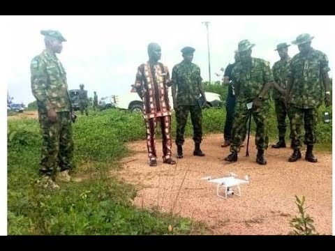 Army Deploys Drone To Fight Kidnapping