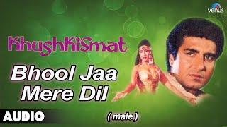 Khushkismat : Bhool Jaa Mere Dil- Male Full Audio Song   Raj