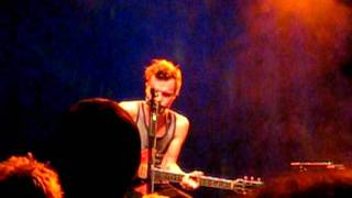 The Tallest Man On Earth - The Drying of the Lawns (05.24.2011, Muffathalle, Munich)