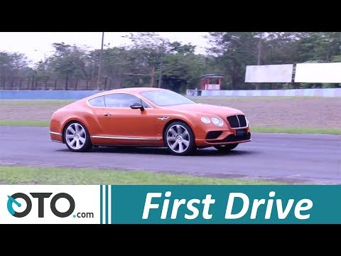 First Drive Bentley Continental