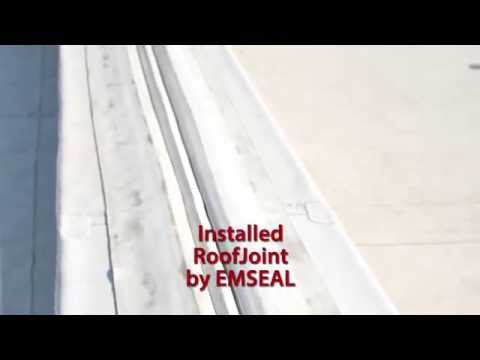 EMSEAL Watertight RoofJoint Installation