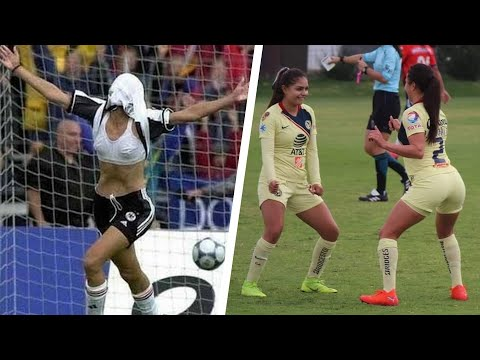 Crazy Goal Celebrations In WOMEN's Football