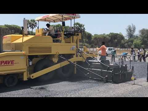 DLC Paver Machine
