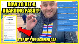 Rise Of The Resistance Boarding Pass Tips & Tricks   Galaxys Edge   Disneyland