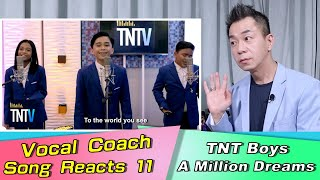 Vocal Coach Reacts to TNT BOY I Am Telling You I'm Not Going