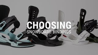#3 Snowboard begginer – How to choose snowboard bindings