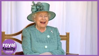 Queen Elizabeth II Celebrates Her Official Birthday with Ceremony at Windsor