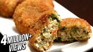 Paneer Cutlet | Easy Starter / Snack Recipe | Ruchi's Kitchen