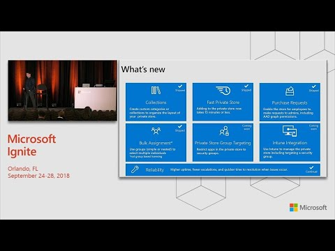 Modern app distribution with Microsoft Store for Business - BRK3003