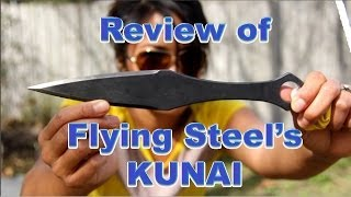 Review of Flying Steel's Kunai Throwing Knife
