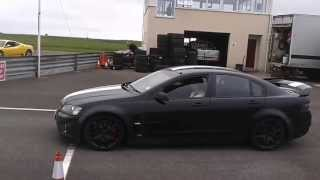 preview picture of video 'Vauxhall VXR8 Powering Round The Track'