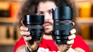Canon 50mm F1.2 L RF Review | BEST CANON 50mm Lens EVER!