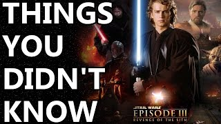 10 Things You Didn't Know About Revenge of the Sith