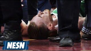 Gordon Hayward Injured In Celtics