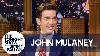 John Mulaney and Pete Davidson Have Very Different Dressing Room Styles on Their Tour