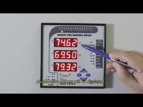 RG3-15 CLS Power Factor Controller Active Powers