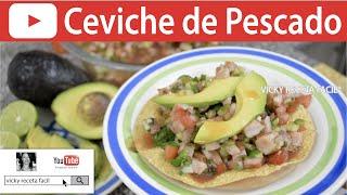 CEVICHE DE PESCADO | Vicky Receta Fácil