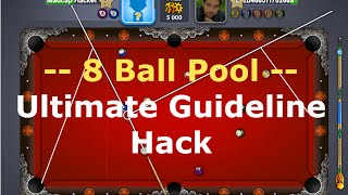 Miniclip 8 Ball Pool Ultimate Guideline Hack Oct 2017 PC