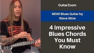 4 Impressive Blues Chords You Must Know | Blues Guitar Workshop